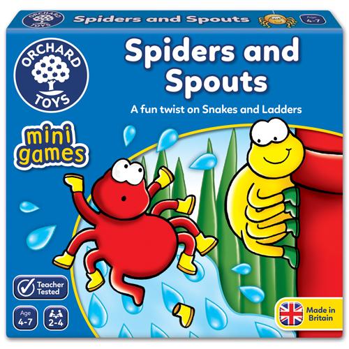 Spiders & Spouts - Mini Game
