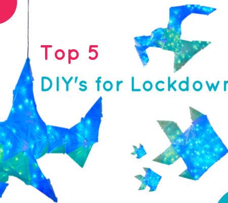Top 5 DIY Toys for Lockdown