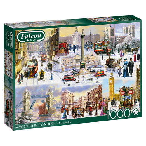 A Winter in London Jigsaw Puzzle (1000 pieces)