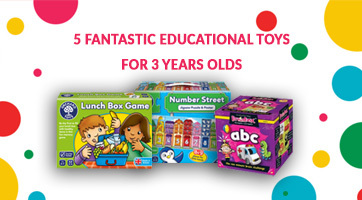 5 Fantastic Educational Toys For 3-Year-Olds