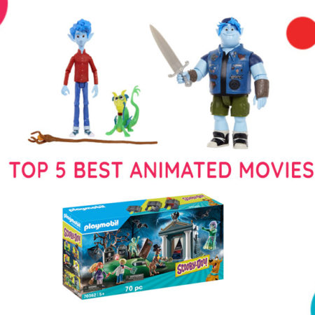 Top 5 Best Animated Movies