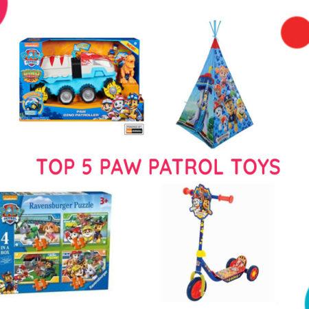 Top 5 PAW Patrol Toys