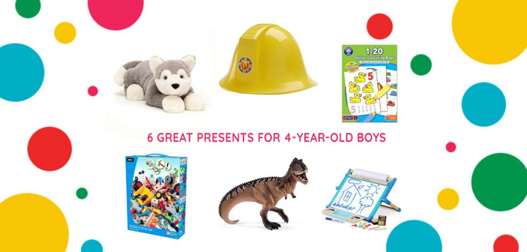 Top 6 Presents for 4-Year-Old Boys