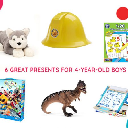 6 Great Presents for 4-Year-Old Boys