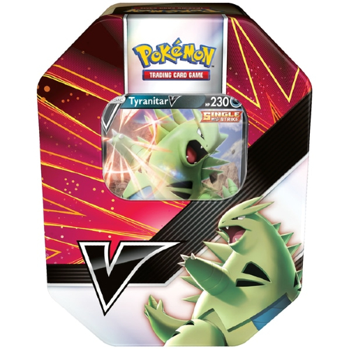 Pokemon TCG: V Strikers Tin - Tyranitar