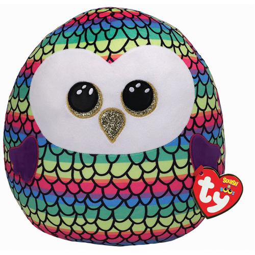 Owen Owl - Squish-a-Boo - 10