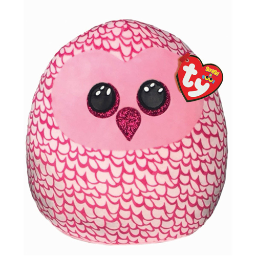Pinky Owl - Squish-a-Boo - 10""