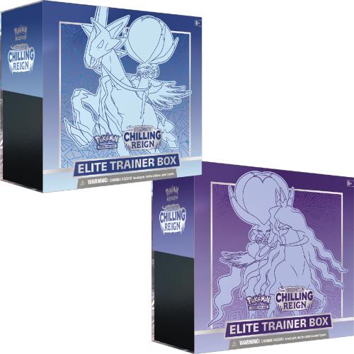 Pokemon TCG_ Sword & Shield Chilling Reign Elite Trainer Box