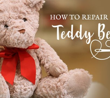 How To Repair Your Teddy Bear