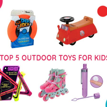 Top 5 Outdoor Toys for Kids