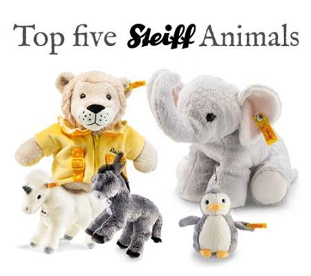 Top 5 Steiff Animals