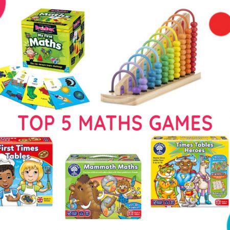 Top 5 Maths Games