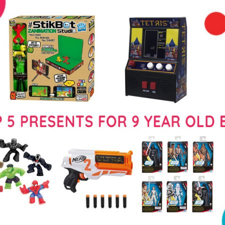 Top 5 Presents for 9-Year-Old Boys