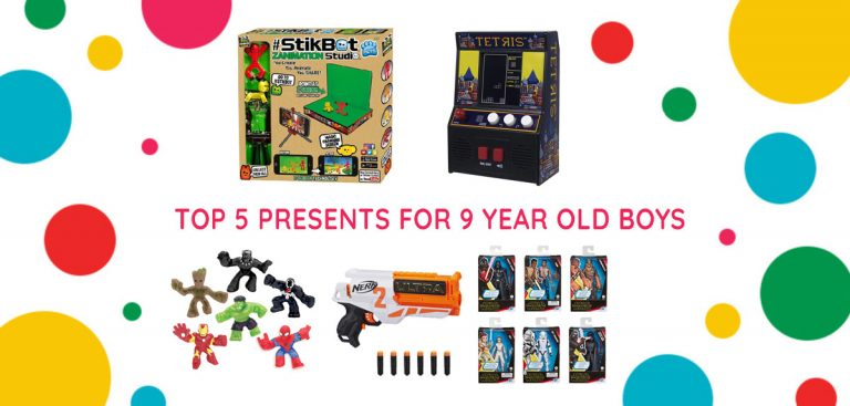 Top 5 presents for 9-year-old boys banner