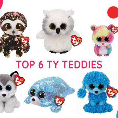 Top 5 Ty Teddies