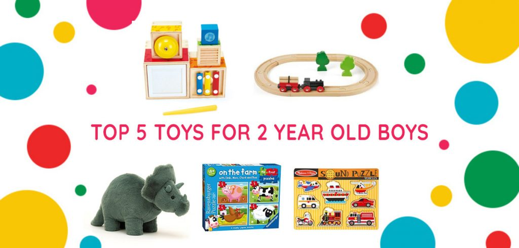 Top 5 toys for 2 year old