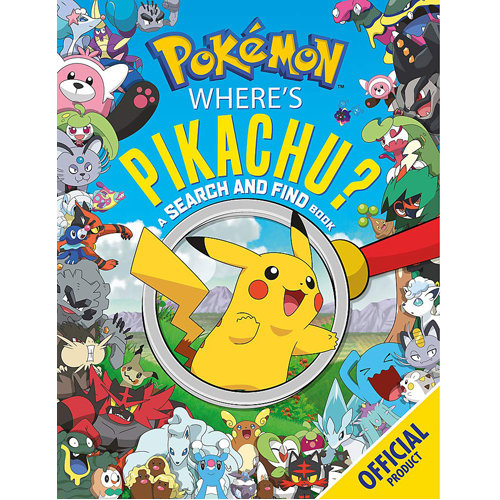 Pokemon: Where's Pikachu? A Search and Find Book