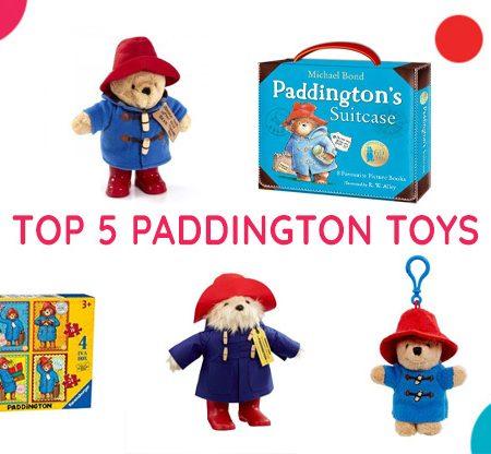 Top 5 Paddington Toys