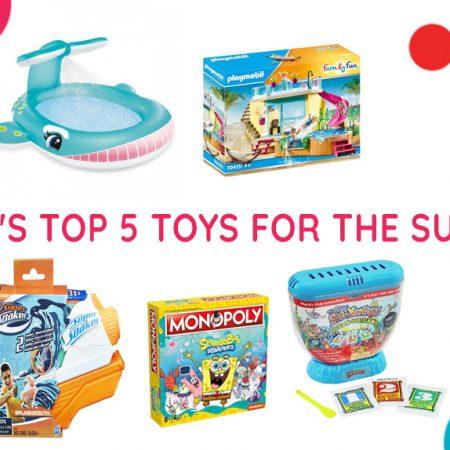 Solly's Top 5 Toys for the Summer