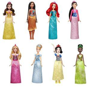 disney princess royal shimmer doll collection