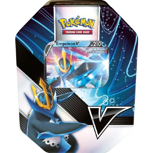 *B Grade* Pokemon TCG: V Strikers Tin - Empoleon